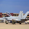 "Navy F/A-18F Super Hornets - Strike Fighter Squadron 106 ""Gladiators"" from Virginia Beach, VA"