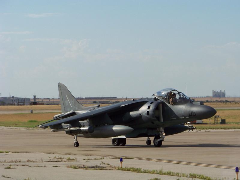 """Marines Attack Squadron 542 """"Tigers"""" AV-8B Harrier II from Havelock, North Carolina."""