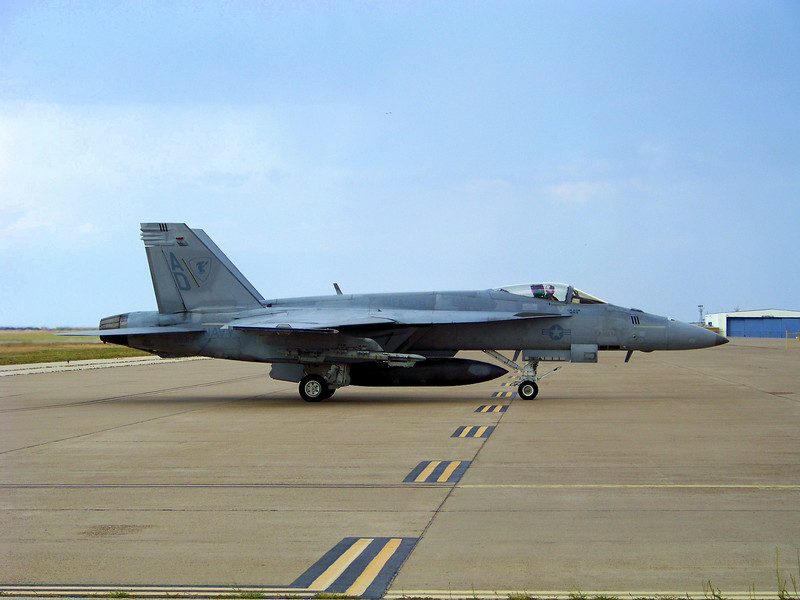 "Navy F/A-18F Super Hornets - Strike Fighter Squadron 106 ""Gladiators"" from Virginia Beach, VA"