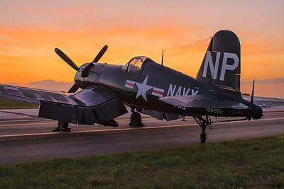 """Corsair Sunrise"" F4U Corsair"
