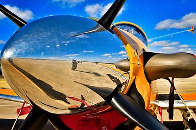 """""""Reflecting Texan"""" T-6 Texan II"""