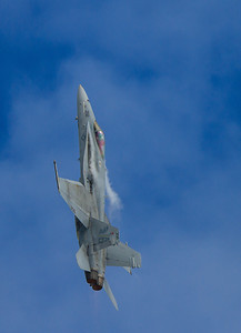 U.S. Navy F/A-18 Hornet going vertical