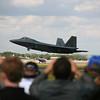 Fairford 2010 - USAF F-22A Raptor