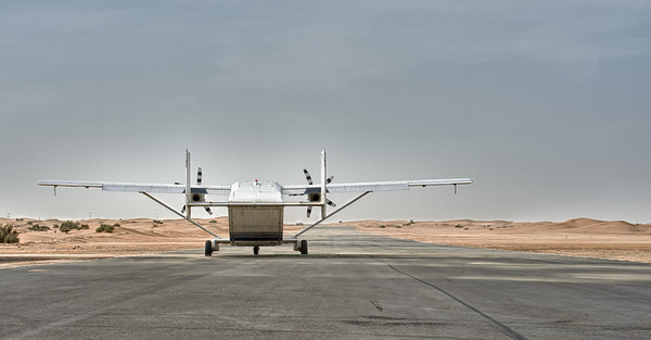 Short Skyvan at the Desert campus of Skydive Dubai
