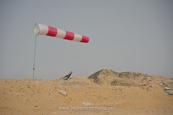 Windsock at Skydive Dubai, Desert Campus