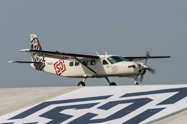 Blackhawk conversion Cessna Caravan at Skydive Dubai
