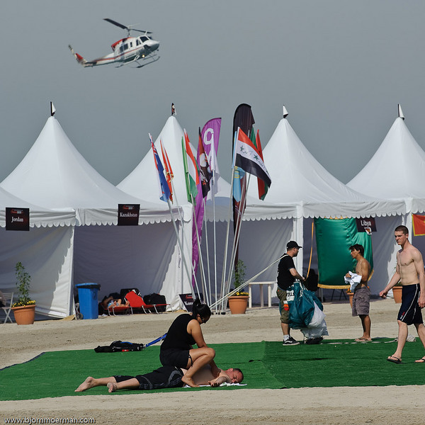 It is a hard sport... Dubai Parachuting Championship and Gulf Cup 2010