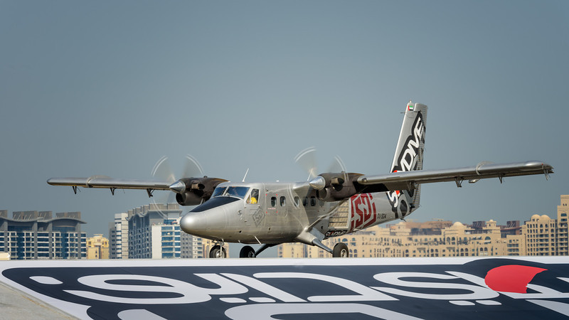 Twin Otter at Skydive Dubai