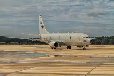 P-8A Poseidon of VP-16 stationed at NAS-JAX *This photo can only be purchased at the NEX or Home and Garden Center at NAS-JAX.  Please contact me for details.