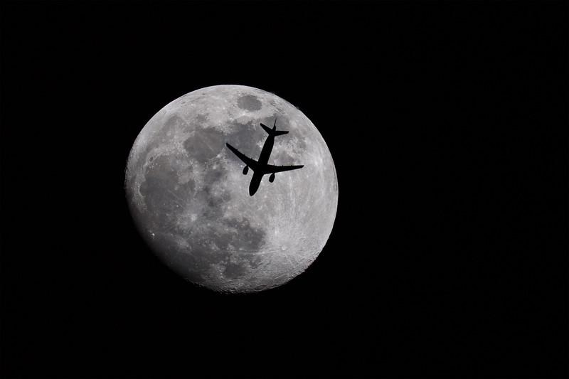 Delta A-320 Silhouette