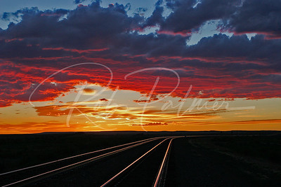 Tracks in the Evening:  Naturescapes.net Image of the Week and Winner Landscapes, Loveland Camera Club 2008.