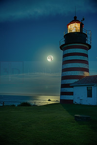 West Quoddy Lighthouse, Lubec, Maine