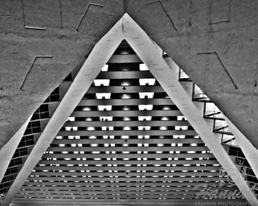 "Judges voted as ""BEST OF SHOW"" Runner-up; 1st PLACE BLUE RIBBON, Washington County Fair Photography Exhibition 2014 Class:  Black and White Lot: Abstract Description:  Rooms at Luxor Hotel & Casino in Las Vegas, NV  © Copyright Hannah Pastrana Prieto"