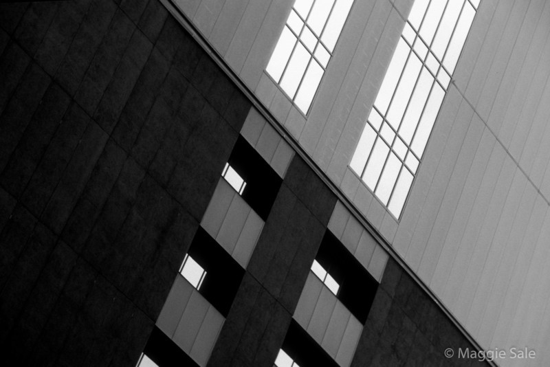Wall and Windows BCE Place Courtyard
