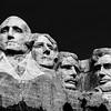 Mount Rushmore (Black and White)