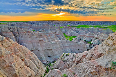 "Item # ""9307"" Big Badlands Overlook"