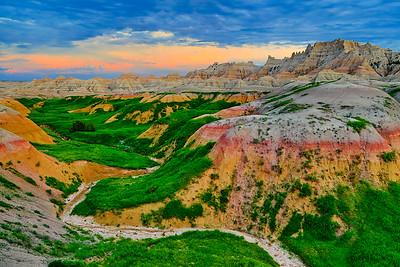 "Item# 8646 ""Yellow Mounds Overlook"""