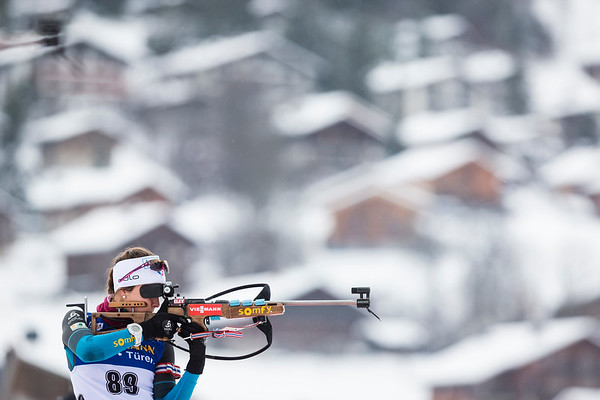 Chloe Chevalier, Biathlon World Cup - Le Grand Bornand, 2017