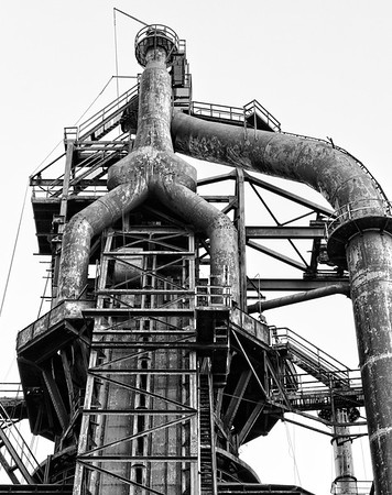 The Bethlehem Steel Corporation was an American steel and shipbuilding company that for much of the 20th century was one of the world's largest steel producer and shipbuilding companies. The company's roots trace to 1857 with the establishment of the Bethlehem Iron Company. Bethlehem Steel was formed in 1904 through the merger of the earlier companies, and existed through the decline of American steel manufacturing during the 1970s until its final bankruptcy in 2001.The Steel Stacks were preserved as an Icon of the Steel Industry and are now part Arts and Entertainment center
