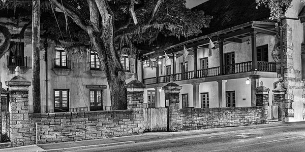 Government House is located at 48 King Street in St. Augustine, Florida, adjacent to the Plaza de la Constitución. The building, constructed of coquina, served as the governor's official residence from c. 1710 during the First Spanish Period, throughout the British Period, and until 1812 in the Second Spanish Period. Wikipedia