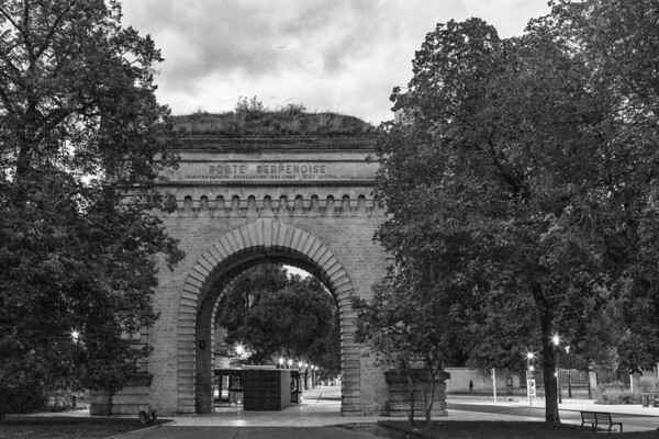 Porte Serpenoise à Metz