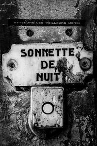 Sonnette De Nuit