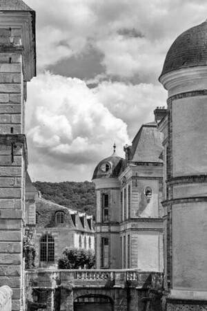le château de Dampierre et le parc