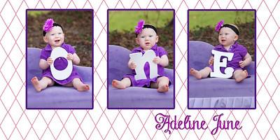 Adeline one year