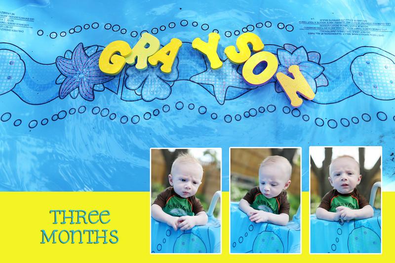 Grayson three months