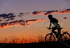 Cyclist at Badlands National Park in South Dakota - 5 - 72 ppi