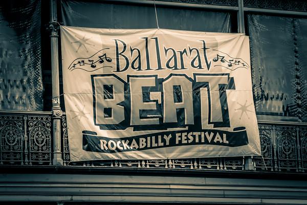 Ballarat Beat Rockabilly 2019 Classic Car Show