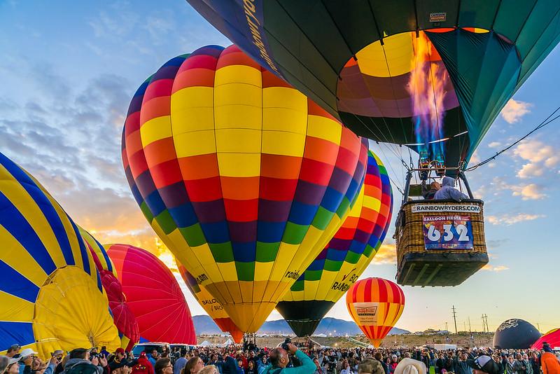 Lift Off at Balloon Fiesta 2016