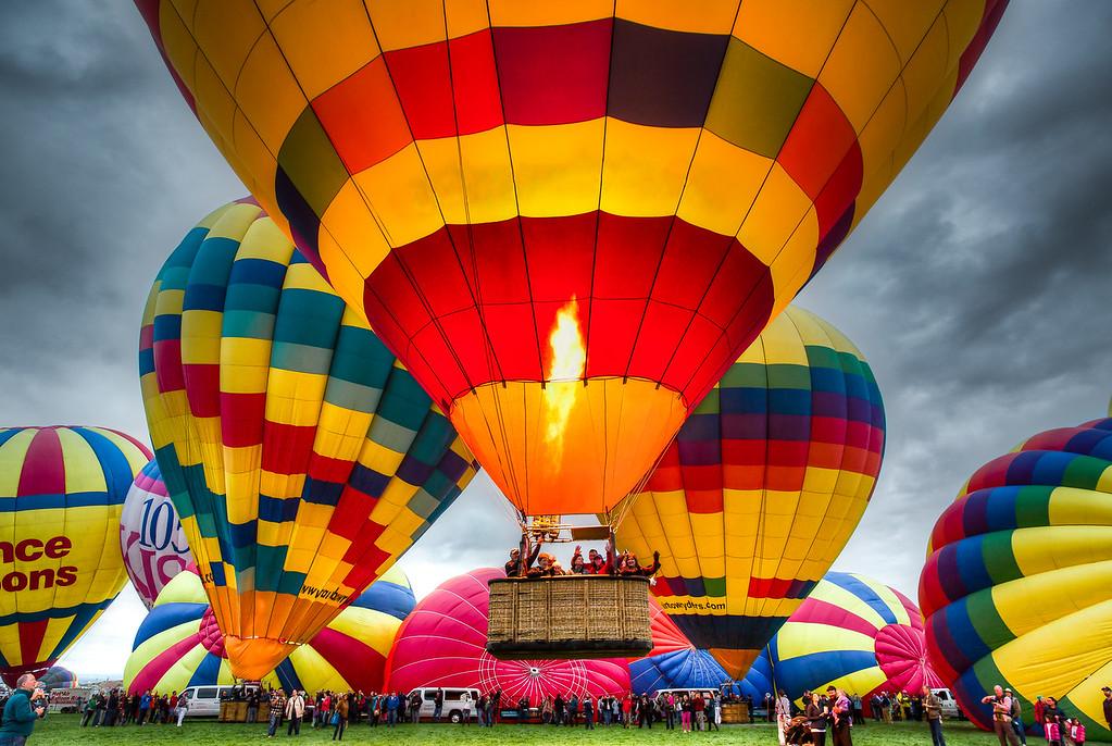 Mass Ascension at Balloon Fiesta 2015