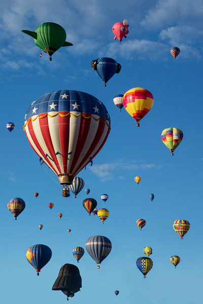 Mass Ascension at Balloon Fiesta 2016