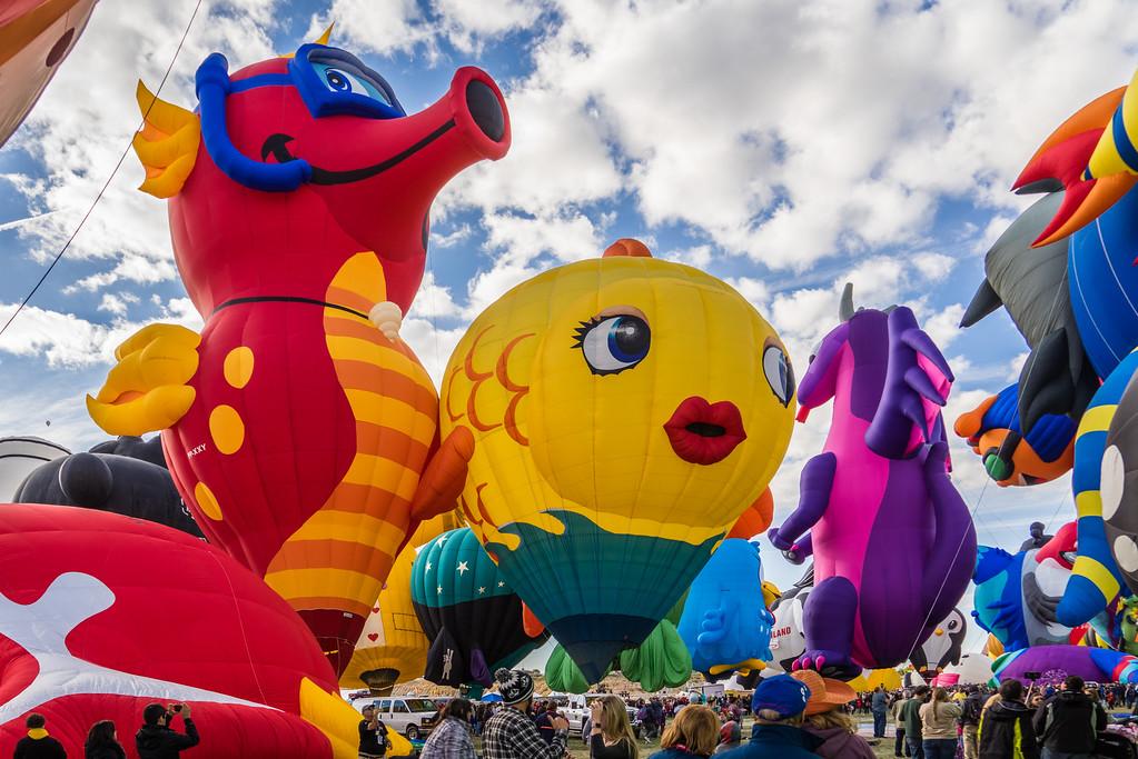 Under the Sea at Balloon Fiesta 2016