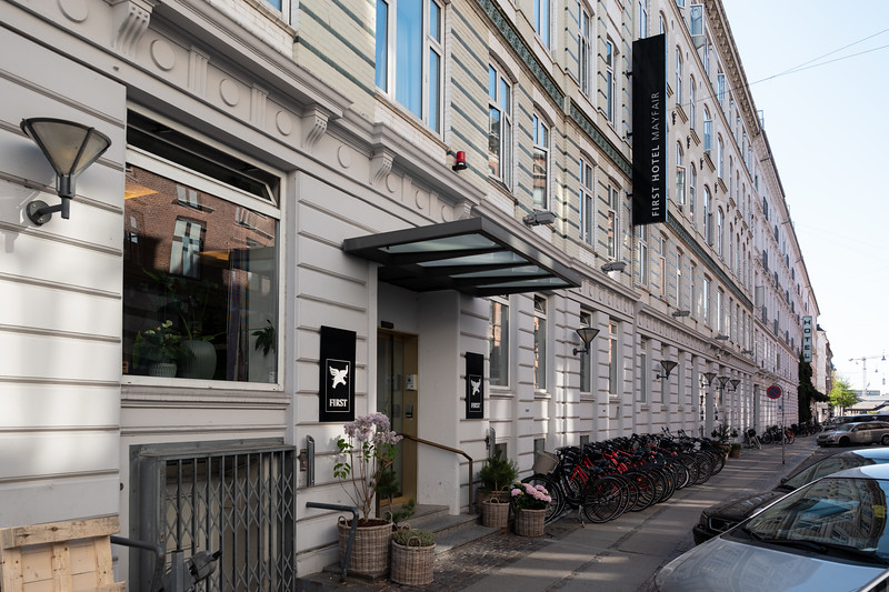 First Hotel Mayfair - Copenhagen hotel the day before our cruise - May 9, 2018