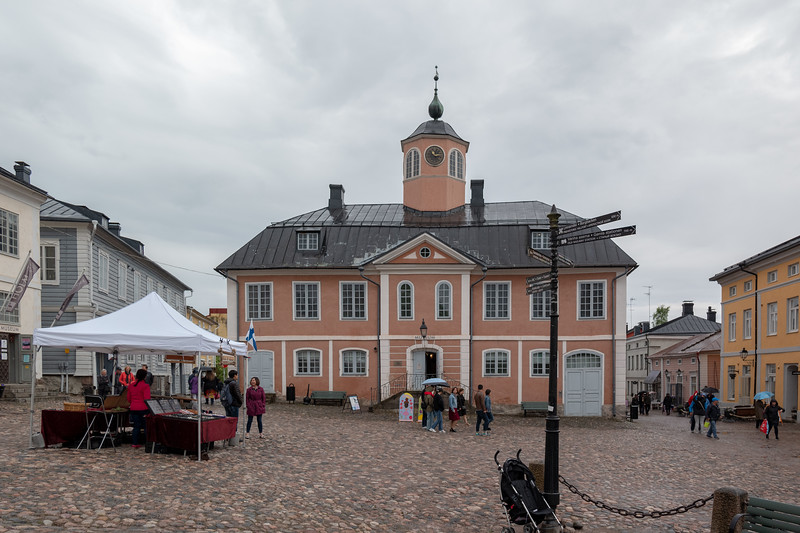 The old Porvoo Town Hall, now a museum