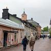Cobblestone street in Porvoo
