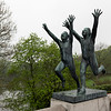 Over 200 pieces by Norwegian sculptor Gustav Vigeland