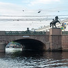 Anichkov Bridge & the 'Horse Tamers' statues