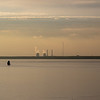 2 nuclear power plants in the distance