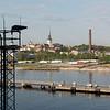 Arriving at the port of Tallinn, Estonia - May 15, 2018