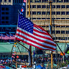 US Flag In Baltimore