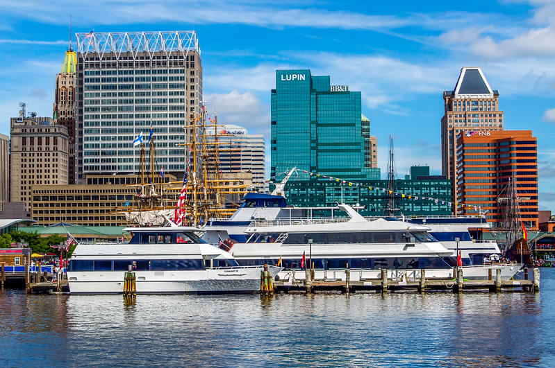 Buildings of Downtown Baltimore