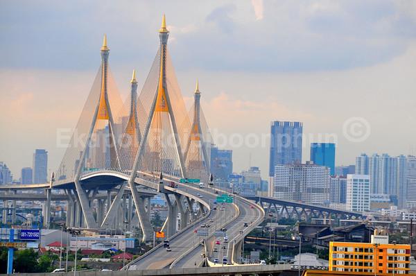 Industrial Circle Bridges  Bangkok, Thailand  2010