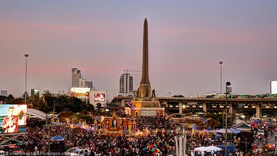 Anti-Government Protests, Victory Monument 16Jan14 (1)