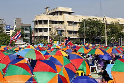 Anti-Government Protests, Democracy Monument, Bankgkok 21Dec13 (5)