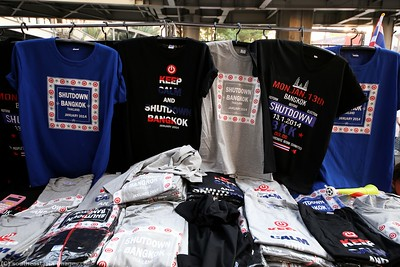 Anti-Government Protests, T-Shirt Souvenirs, 16Jan14