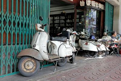 Vespa Delivery, Chinatown, Bangkok