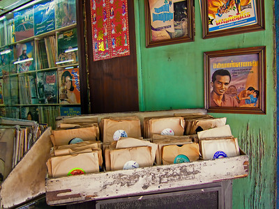 Living Vinyl Museum, Broadway Records, Chinatown, Bangkok